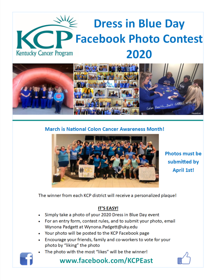 Dress In Blue Day Contest